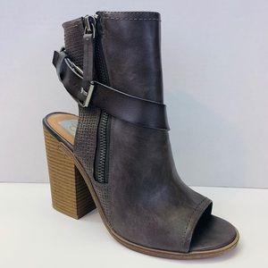 Dolce Vita Gray Sandal Open Toe Bootie